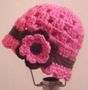 Garden Baby Crochet cap- by Glaser Crafts