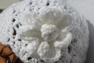 Coconut Candy Crochet Cap