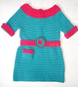 crochet dress Marina-fresh beat band