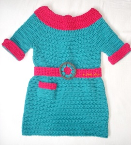crochet dress Marina-fresh beat band