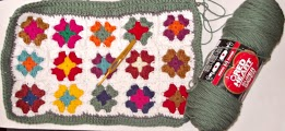 crochet in progress part II- front part- by Glaser Crafts