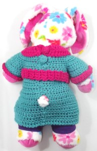 Marina fresh beat band crochet mini dress- by Glaser Crafts