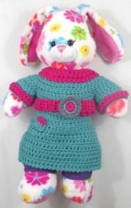 Marina fresh beat band crochet mini dress- by Glaser Crafts